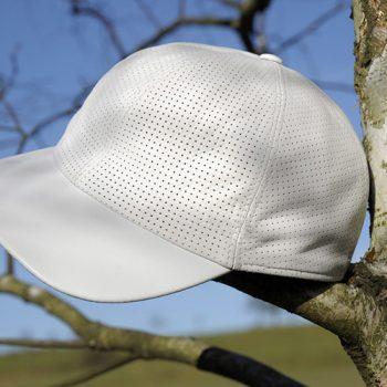 Bullani Baseballcap - Echt Leder, perforiert