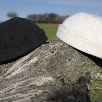 Bullani Sailorcap - Leinen und Wollstoff